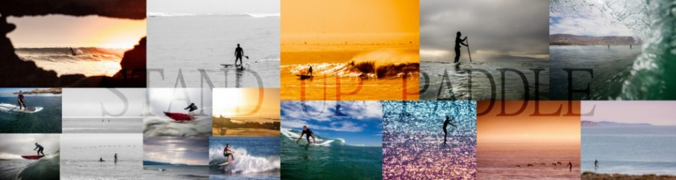 Collage of SUP photos
