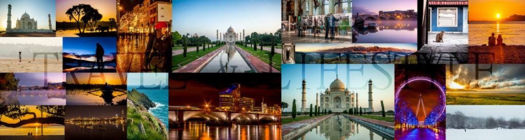 Travel & Lifestyle Collage