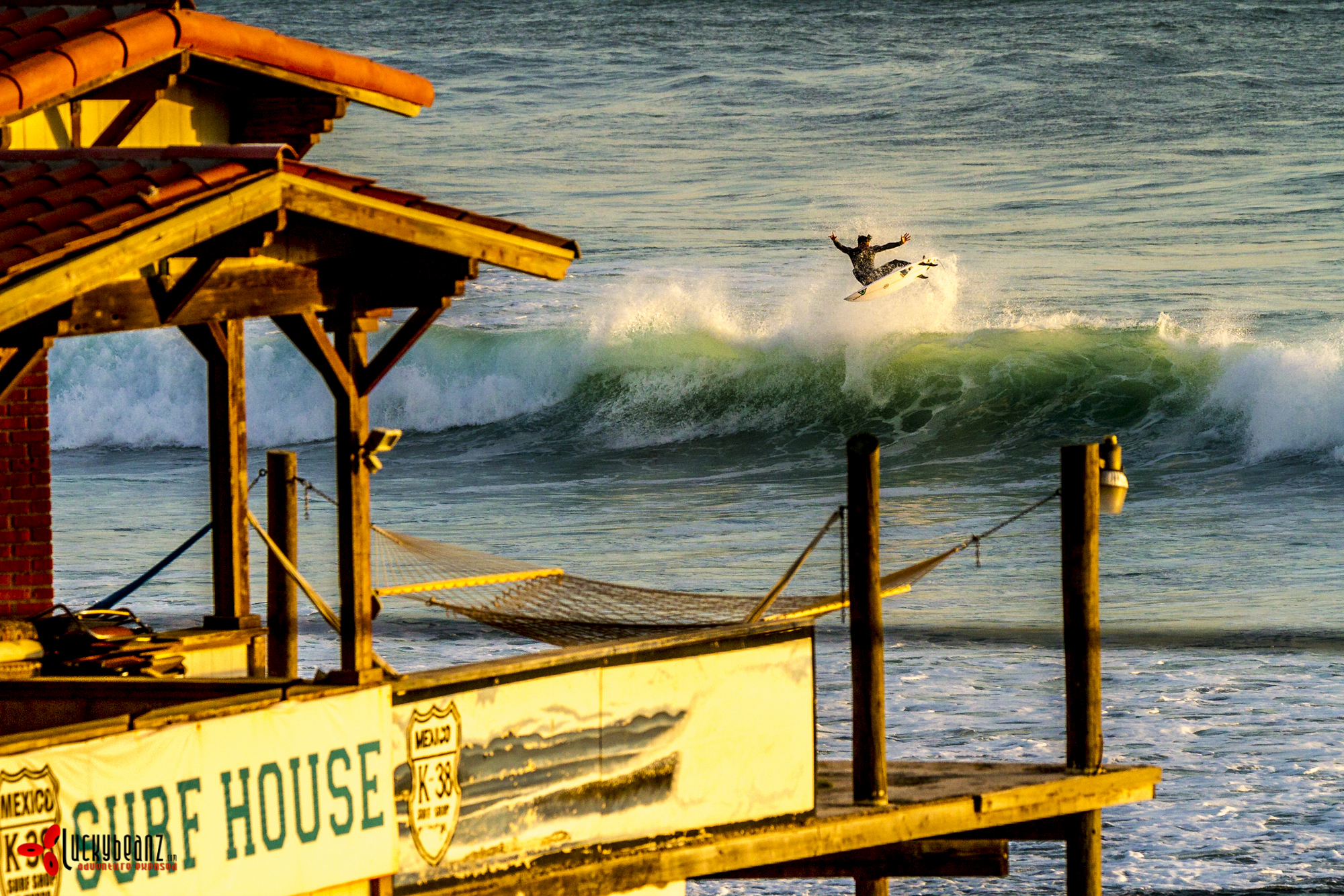 Making surf history at the K38 surf house.