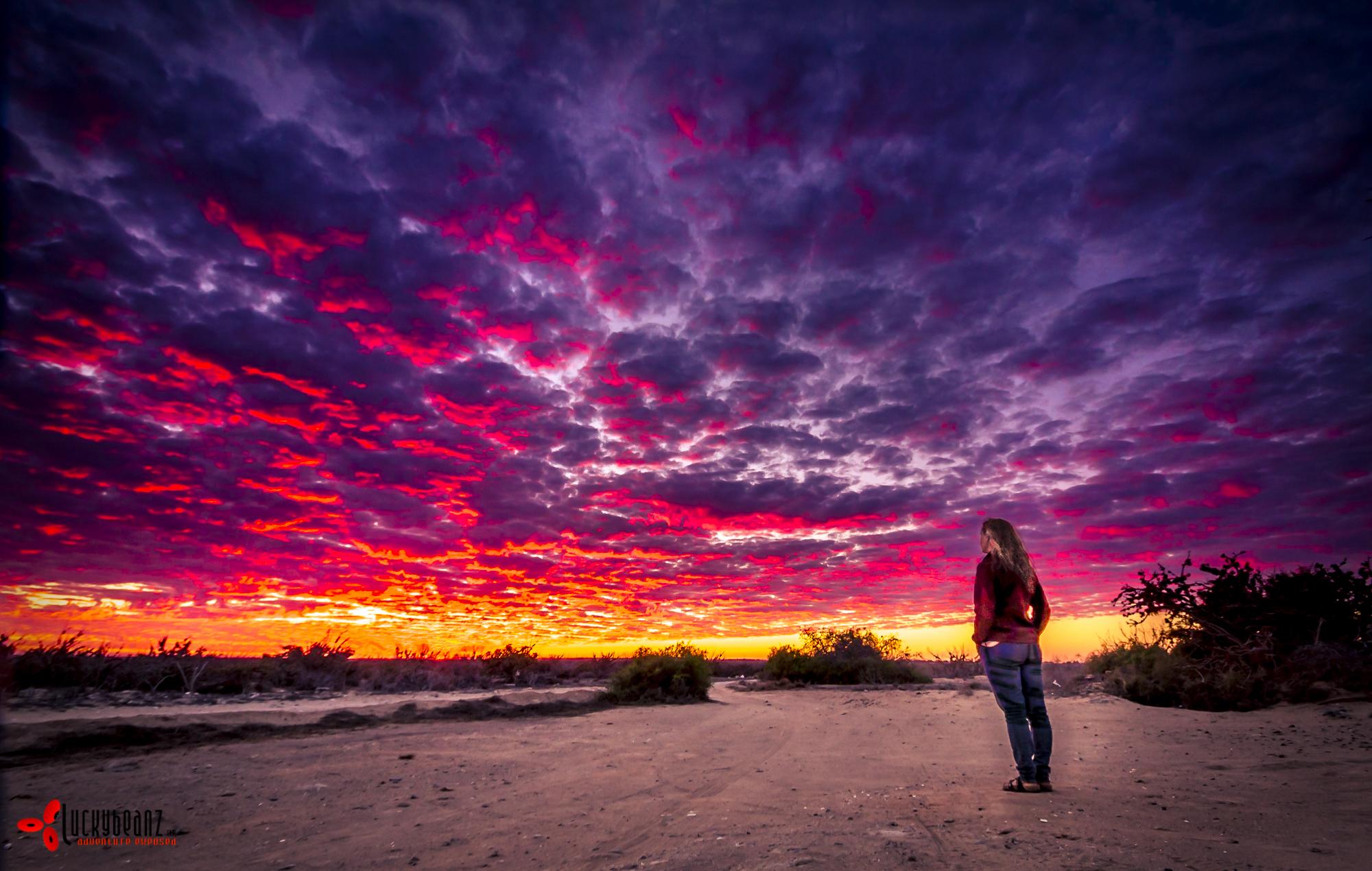 Stunning Baja sunsets.