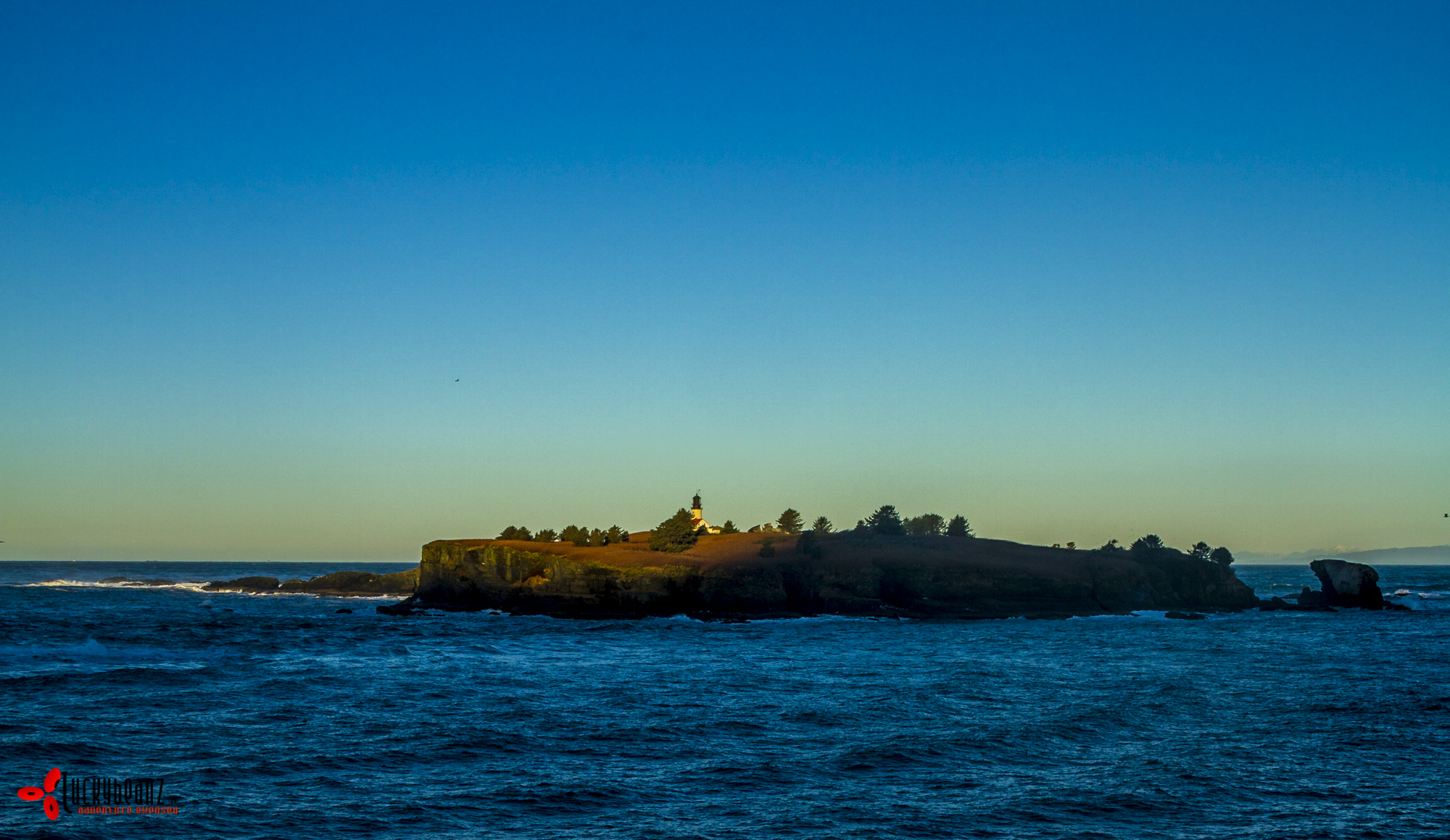 Waking dawn at Cape Flattery Lighthouse.
